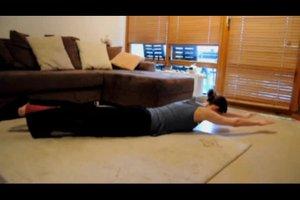Übungen für die Körperspannung