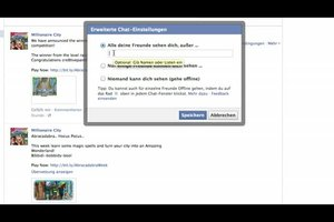 Bei Facebook als offline anzeigen - Anleitung