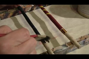 Zauberstab basteln - Anleitung für einen Zauberstab wie Harry Potter