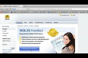 Eigene Email-Adresse bei WEB.DE einrichten