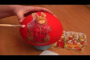 Ostereier basteln - so geht´s aus Pappmaschee
