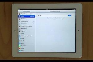 Wie komme ich mit dem iPad ins Internet? – So geht's