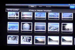 Auf dem iPad Fotoalben erstellen - so gehen Sie vor