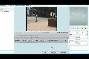 VLC schneiden - Anleitung