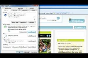 Browserverlauf wiederherstellen - so geht´s beim Internetexplorer