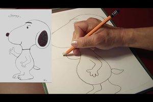 Snoopy - Bilder selber malen