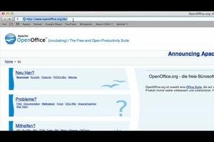 OpenOffice - Textfeld einfügen