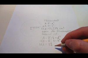Volumen von einem Kreis berechnen - so geht´s