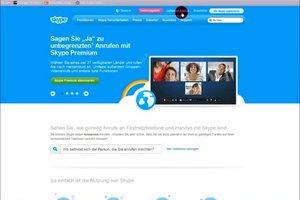So können Sie mit Skype auf dem Handy anrufen