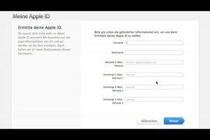 Apple-ID vergessen? - So gehen Sie vor