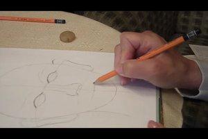 Gesichter zeichnen - eine Übung für Anfänger