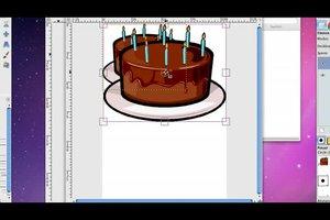 Geburtstag - Einladungen mit GIMP selber gestalten