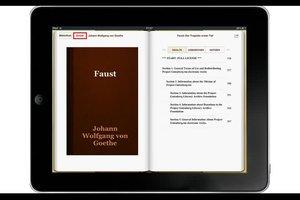Bücher online - downloaden und auf dem iPad lesen