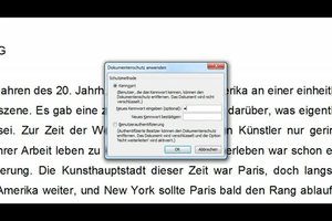 Word - Dokumente schreibgeschützt speichern: so geht´s