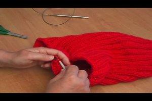 Loop-Schal selber stricken - Anleitung