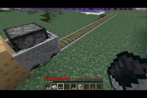 In Minecraft eine Lokomotive nutzen - so geht's