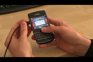 Fotos von einem BlackBerry auf den PC ohne Karte übertragen