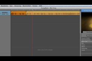 Lieder schneiden mit GarageBand - Anleitung