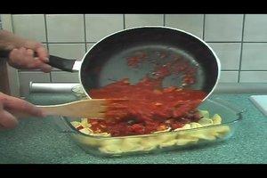 Italienische Pasta - Rezept für Tortellini al forno