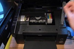 Epson Stylus SX110: Patronen wechseln - so geht es