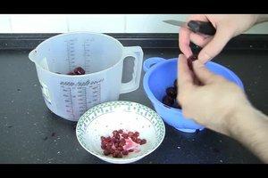 Sauerkirschmarmelade - Rezept