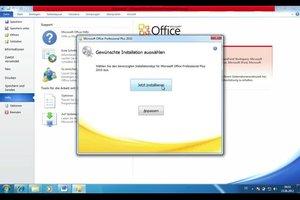 Office 2010 aktivieren - Anleitung