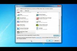 Windows 7 - Standardprogramm entfernen