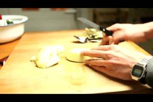 Auberginencreme selber zubereiten