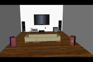 Dolby-Surround-Anlage richtig aufstellen - so geht´s