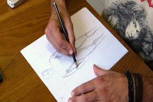 Wie zeichnet man Menschen?