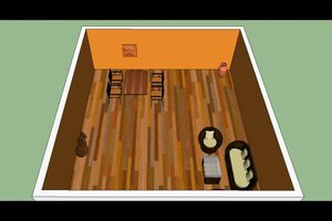 Wohnzimmer mit Farben gestalten - Ideen für mediterranes Wohnen
