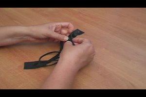 Leder-Armbänder selber machen - Anleitung