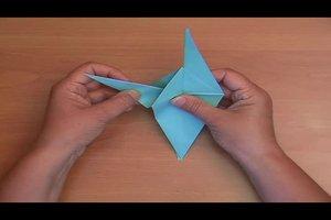 Origami-Drache – Faltanleitung für ein Fabeltier
