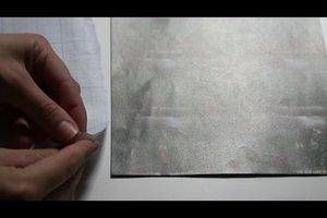 Schreibtischunterlage mit einem Foto selber gestalten