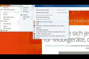 Browserverlauf anzeigen - so geht's