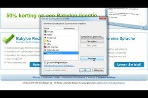 Babylon entfernen aus Firefox - so geht's