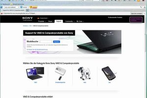 Sony-VAIO-Treiber herunterladen und installieren - so geht's
