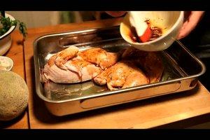 Hähnchen im Backofen zubereiten - so geht´s