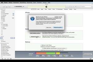 iPhone 4: Passwort vergessen - was tun?