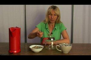 Mariendistel als Tee zubereiten - Anleitung