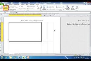 Karteikarten erstellen - so geht's in Excel