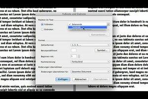 Fußnote in Word für Mac - so setzen Sie sie
