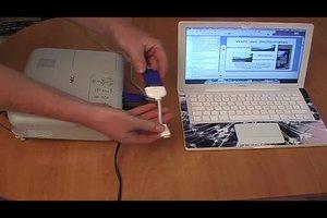 Macbook auf Beamer umschalten - so geht's