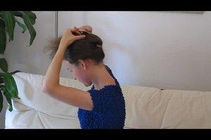 Haarspangen für Frisuren - so klappt's