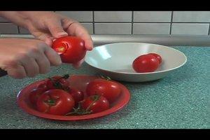 Tomaten einfrieren - so geht's