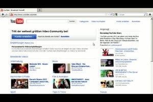 YouTube.de - So stellen Sie ein eigenes Video ein