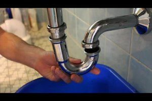 Waschbecken - Siphon selber austauschen