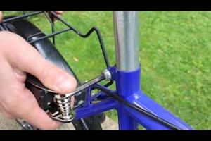 Beim Fahrrad die optimale Sattelhöhe einstellen - so geht's