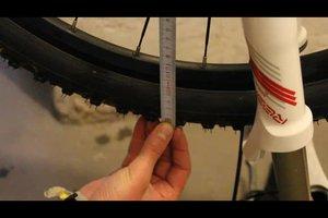 Durchmesser von Fahrradreifen ermitteln - so geht's