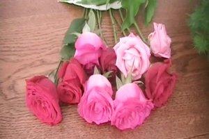 Anleitung - Blumenstrauß binden